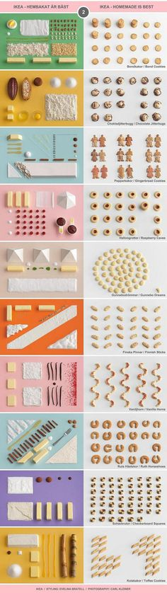 "10 Classic Swedish Treats (II) - IKEA cookbook ""Hembakat är Bäst"" (Homemade Is Best) / Food Styling by Evelina Bratell, Photos by Carl Kleiner (http://www.carlkleiner.com)"
