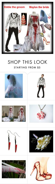"""The Asylum Wedding"" by stanchez on Polyvore featuring Poizen Industries, crazy and outlast"