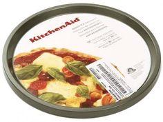 Assadeira de Pizza Redonda Antiaderente 30cm - KitchenAid KI648AFONA com as melhores condições você encontra no Magazine Edmilson07. Confira!