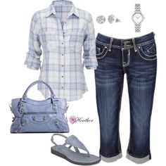 Light Blue by hrtheo on Polyvore featuring maurices, Citizen and Vigoss