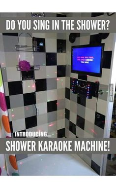 Serious shower singers