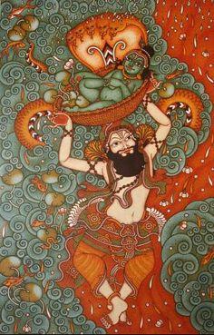 Kerala Mural,Vasudev