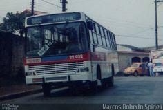 Ônibus da empresa Viação Bola Branca, carro 22 032, carroceria Thamco Scorpion, chassi Mercedes-Benz OF-1318. Foto na cidade de São Paulo-SP por Marcos Roberto Spineli, publicada em 07/09/2016 17:42:11.