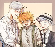 Manga Pictures, Cute Pictures, Otaku, Shingeki No Bahamut, Two Best Friends, Neverland, Haikyuu, Norman, My Photos