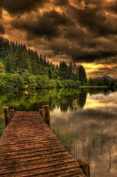 Ancient Dock, Loch Ard, Scotland We never get tired of the beautiful and dramatic landscapes along Scotland Beautiful World, Beautiful Places, Simply Beautiful, Beautiful Sunrise, Absolutely Gorgeous, Nature Verte, Landscape Photography, Nature Photography, Travel Photography