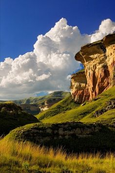 Mushroom Rocks, South Africa. Looks like coral scub from Eureka 7!