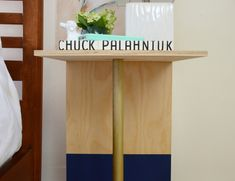 How-To: An Incredibly Easy Wooden C Table