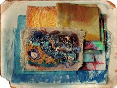 CAROLYN SAXBY MIXED MEDIA TEXTILE ART: Happy new year!