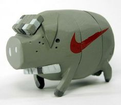Michael Lau - Nike Grey Pig