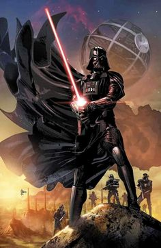 Star Wars: Darth Vader Annual by Mike Deodato Jr. Mike Deodato, Wallpaper Darth Vader, Star Wars Wallpaper, Darth Vader Artwork, Darth Vader Tattoo, Images Star Wars, Star Wars Pictures, Star Wars Jedi, Star Trek