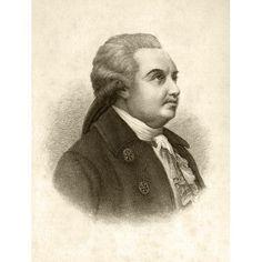 Denis Ivanovich Fonvizin Circa 1744 To 1792 Russian Englightenment Playwright Canvas Art - Ken Welsh Design Pics (12 x 16)