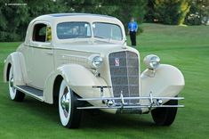 1934 Cadillac Model 355-D Stationary Coupe by Fleetwood