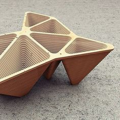 Delunay table. #design #after_form #afterspace #table #concept #plywood…