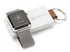 Griffin Travel Power Bank for Apple Watch Can be Attached to Your Keychain