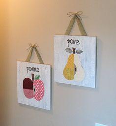 French Fruit Wall Art - Crafts by Amanda