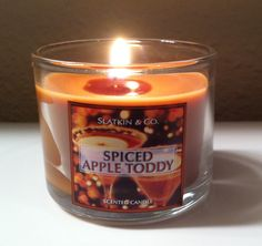 Bath and Body Works candle. Spiced Apple Toddy!
