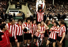 Sunderland win the FA Cup final in 1973 ....Get your FREE DOWNLOAD of the SportsQuest app at www.sportsquestapp.com @SportsQuestApp