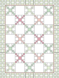 """TLC Home """"Chained Medley Quilt Pattern"""""""