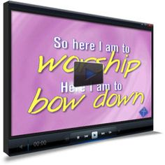 Here I Am Children's Ministry Worship Video
