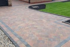 Driveways and Patio Specialist - Bolton Westhoughton & N West Driveway Blocks, Block Paving Driveway, Brick Pathway, Driveway Paving, Brick Paving, Garden Paving, Front Garden Ideas Driveway, Driveway Design, Patio Edging