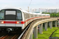 The efficient and clean public transportation in Singapore makes getting around…