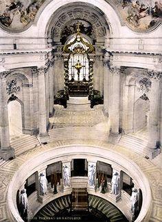 Napoleon Tomb, Seine, Saint Helena, porphyry sarcoghagus, Les Invalides, Paris