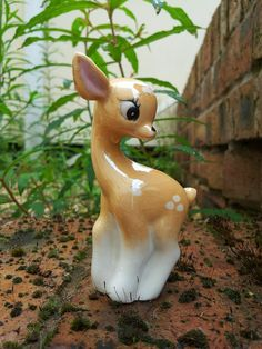 Vintage Deer Miniature Ornament by MossMountain on Etsy, $8.00