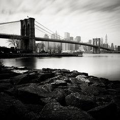 Brooklyn Bridge, Manhattan Skyline #2 (© Josef Hoflehner)
