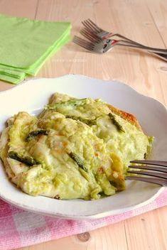 crespelle con asparagi, ricette con gli asparagi
