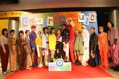 【バンタンデザイン研究所】《カラー》をテーマにスタイリスト科が披露*シェルデプールファッションショー