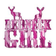 Redneck Girl Pink Camo Buck by Mychristianshirts on Etsy
