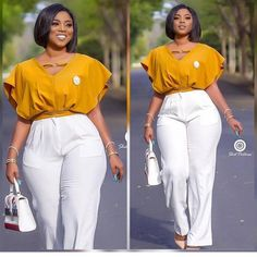 outfits women plus size 90 African Office outfits to try on - Ankara Lovers Office Outfits Women, Curvy Girl Outfits, Curvy Girl Fashion, Business Casual Outfits, Professional Outfits, Classy Outfits, Chic Outfits, Plus Size Outfits, Plus Size Fashion