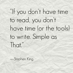 SK on writing