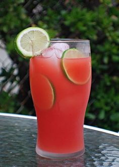 Watermelon Agua Fresca ♥ see also: http://onionsandpeppers.blogspot.com/2010/07/agua-frescas-watermelon-and-lime-cactus.html