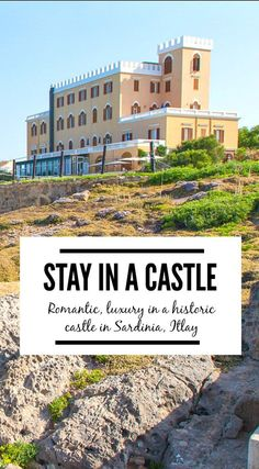 Villa las Tronas is a romantic, luxury retreat by turning an old castle into a hotel. The perfect accommodation when visiting Sardinia, Italy. Check out our pros & cons!   http://www.eatworktravel.com - The luxury, adventure couple!