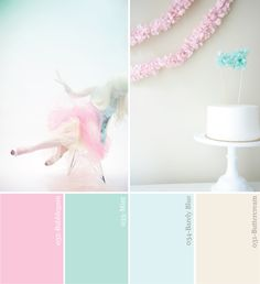 Pastel color palette perfect for spring and summer. This looks very dreamy and romantic