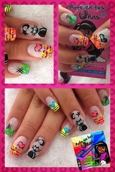 facebook arte en tus uñas Color Block Nails, Baby Nails, Nail Bar, Gel Nail Art, Nail Art Galleries, Creative Nails, Pretty Nails, Manicure, Finger
