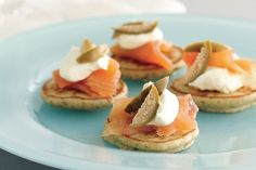 Blinis and champagne mean party season must be here!