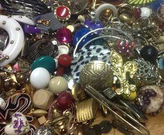 Jewelry and Bead and Bling Destash Mixed by supplysideeconomics