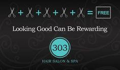CPS-1044 | salon coupon card