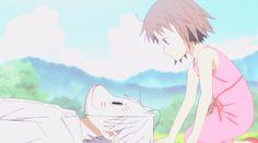 **** Hotarubi no Mori e สู่ป่าแห่งแสงหิ่งห้อย 蛍火の杜へ Be With You **** - Pantip Anime Love, Sad Anime, Anime Guys, Hotaru No Mori E, Kitsune Mask, Japanese Animated Movies, Hotarubi No Mori, Movie Guide, Natsume Yuujinchou