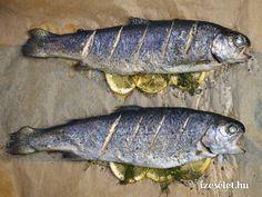 Sült pisztráng - Receptek   Ízes Élet - Gasztronómia a mindennapokra Paleo, Fish, Cooking, Kochen, Brewing, Paleo Food