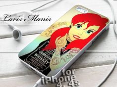 #ariel #little #mermaid #tattooed #jack #daniel #whiskey #costume #iPhone4Case #iPhone5Case #SamsungGalaxyS3Case #SamsungGalaxyS4Case #CellPhone #Accessories #Custom #Gift #HardPlastic #HardCase #Case #Protector #Cover #Apple #Samsung #Logo #Rubber #Cases #CoverCase #HandMade #iphone