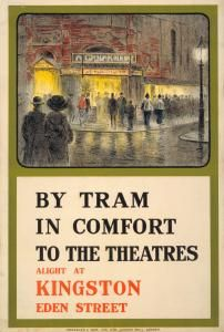 By tram in comfort to the theatres