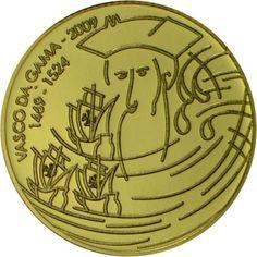 0,25 Euro Gold Vasco da Gama PP