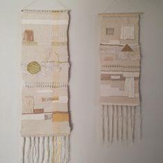 Caro inspiration: Tissages ou tentures murales