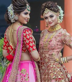 Ditch the Regular jewellery & try the new Offbeat Bridal Jewellery trend! Indian Bridal Photos, Bridal Hairstyle Indian Wedding, Indian Bridal Fashion, Bridal Makeup Looks, Bridal Looks, Bridal Portrait Poses, Bridal Lehenga Collection, Stylish Dress Designs, Indian Bridal Lehenga