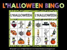 French Halloween Bingo - Français - Loto - Free
