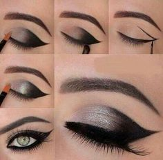 #green eyes #make up