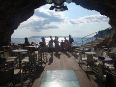"""Deep"" - Cave bar in Makarska, Croatia"